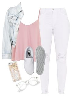 """""""Very cute, yet simple 10"""" by lollypopz951 ❤ liked on Polyvore featuring Topshop, Vans and ban.do"""