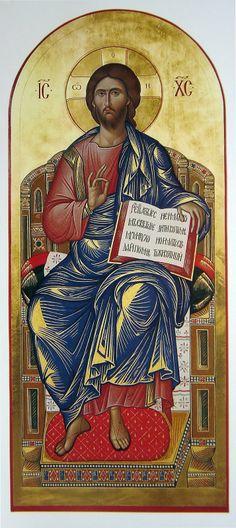 Jesus enthroned