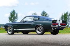 Ford Mustang Shelby GT 500, 1967 - Classicargarage - FR Ford Mustang Shelby Gt, Mustang Cars, Ford Gt500, Shelby Gt500, Old Muscle Cars, Old Fords, Pontiac Firebird, Lamborghini Aventador, Mustangs