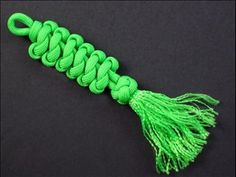 "handmade Collectible Bead /""ALPHA DOG/"" couteau Paracord Lanyard"