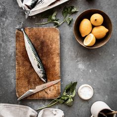 The mackerel opens up a sea of cooking possibilities - smoking, frying and grilling. It's high season for mackerel in the late summer months - and it's no problem to fillet with the right Global Knife 🔪 Summer Months, Late Summer, Global Knives, Kitchen Ware, Butcher Block Cutting Board, Smoking, Fries, Grilling, Cheese