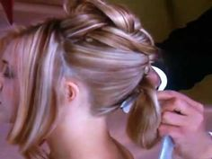 Updo By Mr Martin Parson