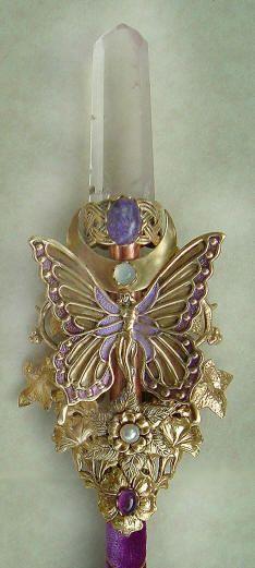 Purple Butterfly Crystal