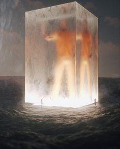 by Stuart (@stuz0r) on Instagram Fantasy Concept Art, Sci Fi Fantasy, Fantasy World, Illustrations, Illustration Art, Cyberpunk, Modelos 3d, Surrealism Painting, Science Fiction Art