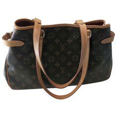 brown Cloth LOUIS VUITTON Handbag - Vestiaire Collective