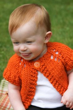 Custom Hand Knit Sweater for Baby or Toddler. $38.00, via Etsy.