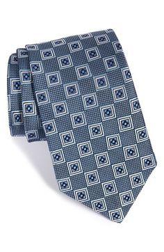 Men's J.Z. Richards Medallion Woven Silk Tie