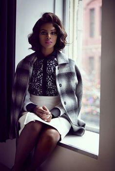 patterned coat
