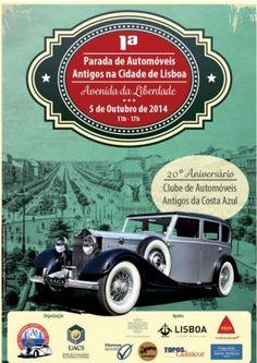 1ª Parada de Automóveis Antigos da Cidade de Lisboa | ShoppingSpirit