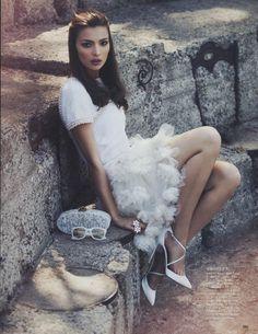 """""""Variations On Simplicity"""" : Carola Remer : Vogue Japan July 2012 : David Bellemore"""