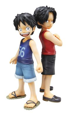 Crunchyroll - Store - Luffy & Ace ~Brotherly Bonds~ One Piece Figure One Piece Figure, One Piece Pop, One Piece Series, Zoro One Piece, One Piece Anime, Model One, Figure Model, Figurine One Piece, Short Stories For Kids