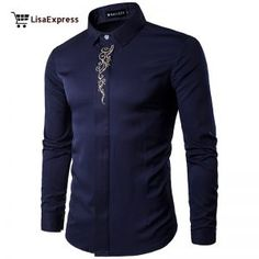 Cheap camisa brand, Buy Quality camisa fashion directly from China male clothes Suppliers: Men Long Sleeve Shirt 2017 New Summer Fashion Brand Male Clothes Slim Fit Shirt embroidery Men Plaid Cotton Shirt Casual camisas Camisa Slim, Men's Fashion Brands, Fashion Site, Fashion Design, Fashion Men, Style Fashion, Luxury Fashion, Popular Outfits, Shirt Embroidery