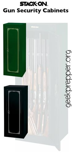 Stack-on Gun Security Cabinets