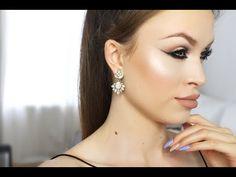 kim Kardashian Cannes inspired makeup // smokey sexy eyeliner - YouTube