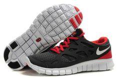 Herren Nike Free Run 5.0 +2 Orange Rot Tief Blau Schuhe