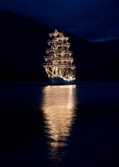 Tall Ship Races at Balestrand, Norway. Photo by Arvid Fimreite