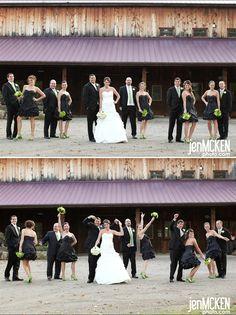 green and black!! Jen McKen Photography!