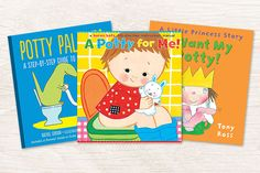 Get your toddler ready for the big leap from nappies to potty with our top ten toilet training books.