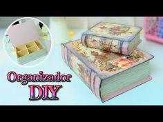 Organizador de cartón en forma de libro vintage - Isa ❤️ - YouTube