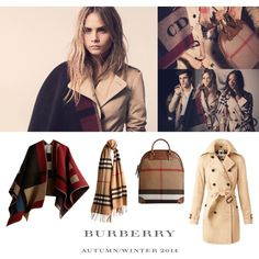 The Heritage Collection – Burberry Prorsum Autumn/Winter 2014 by burberry on Polyvore featuring polyvore fashion style Burberry