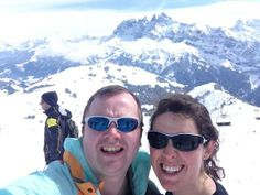 Selfie on the #Swiss wall! #skiing by @cbevey #Switzerland #SwissSelfie