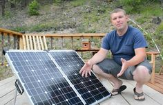 """Choosing the Right Portable Solar Panel  Homesteading  - The Homestead Survival .Com     """"Please Share This Pin"""""""