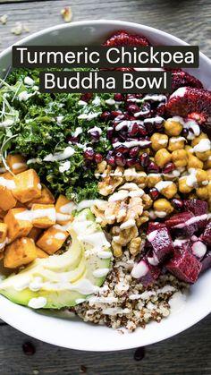 Healthy Meal Prep, Healthy Salad Recipes, Clean Recipes, Veggie Recipes, Whole Food Recipes, Diet Recipes, Healthy Eating, Cooking Recipes, Meal Prep Salads