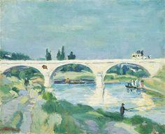 Armand Guillaumin - Pont de Charenton, Île de France 1872