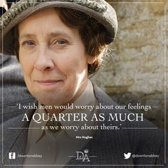 Mrs. Hughes / Downton Abbey