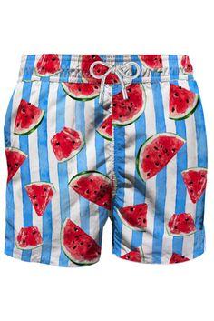 MC2 Saint Barth Herren Badeshort Gustavia Juice Watermelon | SAILERstyle Watermelon, Juice, Saints, Trunks, Swimwear, Fashion, Swim Trunks, Hook And Loop Fastener, Drift Wood
