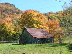Banner Elk, NC - Fall - Barn
