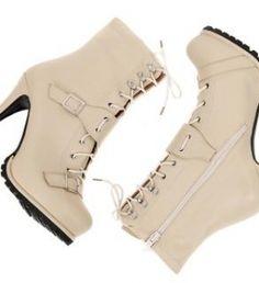 Lace-up Ankle Boots | Korean Fashion | AsianFashion.com - StyleSays