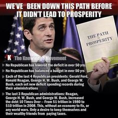 The failures of the Republican Party greatly outnumber actual 'accomplishments'.