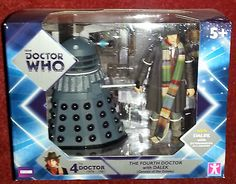 #Doctor who 4th dr #dalek twin pack #figure set bnib,  View more on the LINK: 	http://www.zeppy.io/product/gb/2/361406563715/