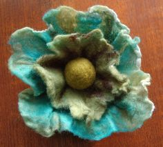 felting flowers - Google Search
