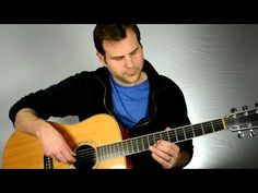 Simple Acoustic Blues Guitar Lick in E - Train Whistle Lick - YouTube