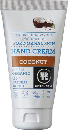 Urtekram Kokosova krema za roke - 75 ml