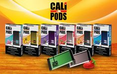Cali Pods Air Disposable Pod Device | Main Smoke Shop KC Vape Box, Juice Flavors, Vape Smoke, Head Shop, Smoke Shops, Smoking Accessories, Pink Lemonade, Pomegranate, Granada