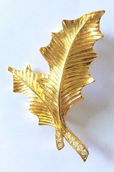 Premier Designs, Vintage Brooches, Trees To Plant, Feather, Leaves, Texture, Stems, Rhinestones, Pattern