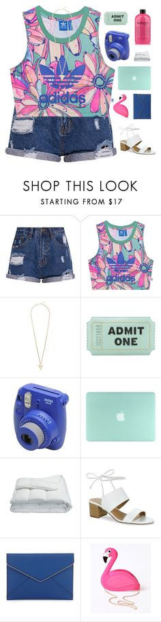 """Summer Vibes"" by pups27 ❤ liked on Polyvore featuring adidas Originals, Givenchy, Kate Spade, Fujifilm, Frette, Tahari, Rebecca Minkoff and Lulu Hun"
