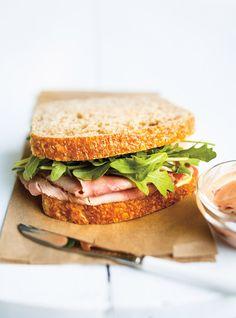 Cherry-Mustard Ham Sandwiches Recipes | Ricardo