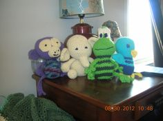 more crocheted animals