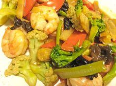 Recette chop suey ou shop suey crevette 974 Réunion
