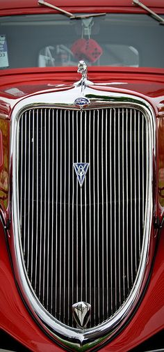 1934 Ford Victoria Grill by William Horton Photography, via Flickr