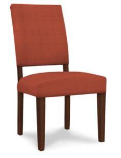 basset furniture custom dining chair orange: feliz dining chair red