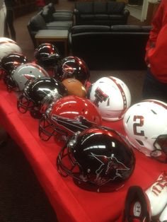 Eye On College Football - CBSSports.com PHOTO: New options for Texas Tech's helmets?
