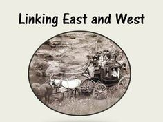 1. Stagecoaches  2. The Pony Express 3. Samuel Morse and the Telegraph 4. The Transcontinental Railroad  There are 25 slides that include great information, pictures, website links, and a video. The students are always very engaged in the lesson!