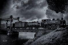Photo Bridge over the river... by Johan Vanreybrouck on 500px