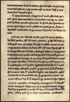 Abelard wrote the Apologia contra Bernardum in defense against attacks brought upon him by St. Bernard of Clairvaux. Above is one of the few manuscript pages that survive of this work. True Love Stories, Love Story, Bernard Of Clairvaux, Becoming A Monk, Secretly Married, Famous Couples, Love Deeply, 12th Century, Innocent