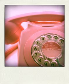 vintage pink telephone #telephone #vintage #retro